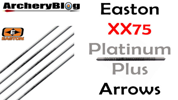 Easton XX75 Platimun Plus Arrows