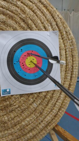 Bray Target with arrows
