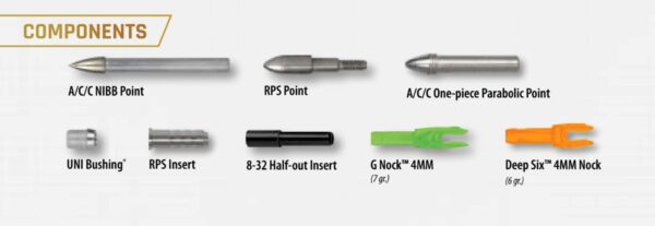 acc arrow components