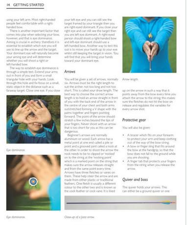 archery skills tactics techniques book page