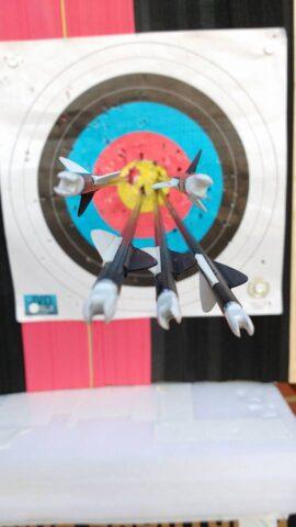 arrows in focus