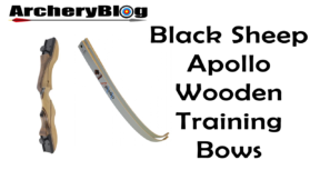 black sheep wooden bow