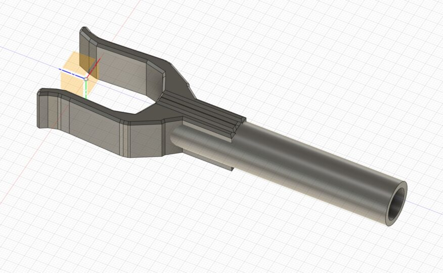 RX10 Bow Stand in Fusion 360