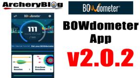 bowdometer app v2.0.2