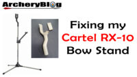 Fixing my Cartel RX10 Bow Stand