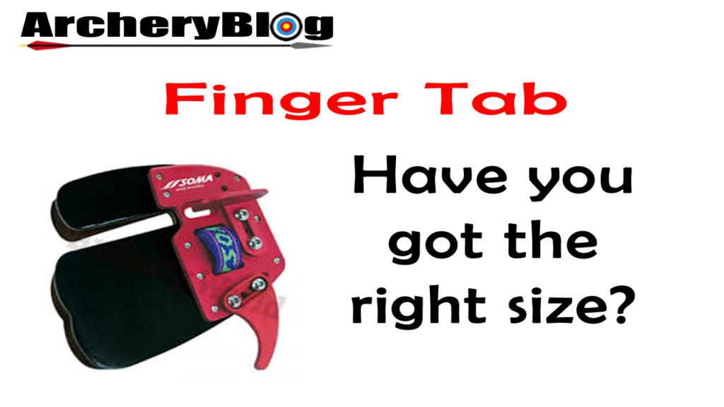 Archery Finger Tab