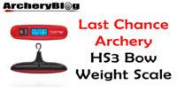 HS3 Digital Bow Scale