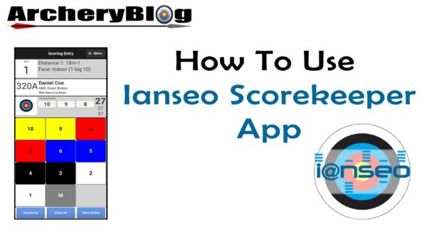 ianseo scorekeeper app video