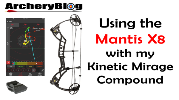 Mantis X8 on a Compound Bow