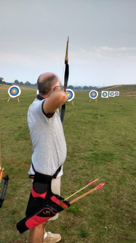 mike on longbow